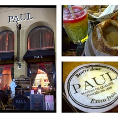 Photo taken at Paul Cafe كافيه باول by Rowen Alaine R. on 5/22/2012