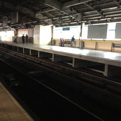 Photo taken at Yellow Line - Araneta Center-Cubao Station by Marcel L. on 5/12/2012