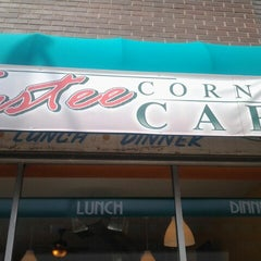Photo taken at Tastee Corner Cafe by Christopher B. on 7/21/2012
