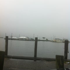 Photo taken at Maple Avenue Marina by Ezra B. on 5/9/2012