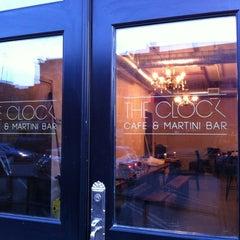 Photo taken at The Clock Bar by Matt D. on 3/6/2012