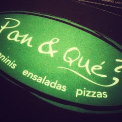 Photo taken at Pan & Qué? by Geovanni T. on 7/7/2012