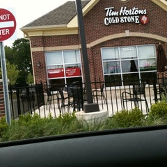 Photo taken at Tim Hortons / Cold Stone Creamery by Anne T. on 6/2/2012