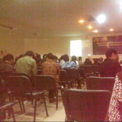 Photo taken at GICI Business School by Ragil B. on 7/29/2012