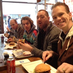 Photo taken at Burger Bar by Kai on 3/3/2012