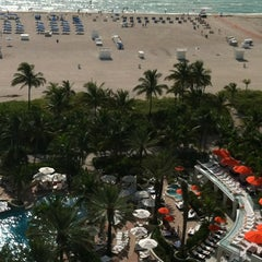 Photo taken at Loews Miami Beach Hotel by Bryce on 8/14/2012