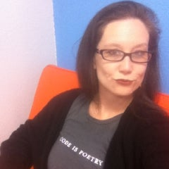 Photo taken at Dashter HQ by Jennifer P. on 2/28/2012