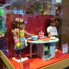 Photo taken at American Girl Doll Store by Dave J. on 8/19/2012