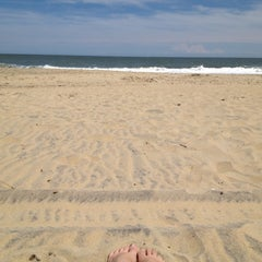 Photo taken at 90th St Beach by Britters on 5/19/2012