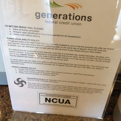 Photo taken at Generations Federal Credit Union by Refugio GiO V. on 8/1/2012