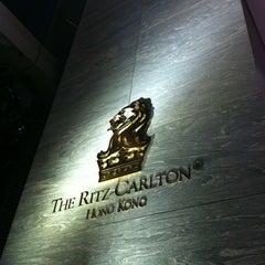 Photo taken at The Ritz-Carlton, Hong Kong by ah198345 on 4/1/2012