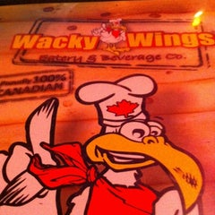 Photo taken at Wacky Wings by John G. on 8/3/2012