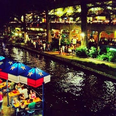 Photo taken at The San Antonio River Walk by Grant B. on 9/1/2012