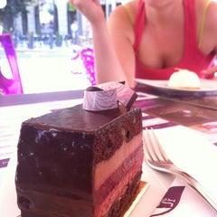Photo taken at Lila Körte Cafe by Szabolcs 'csapos' P. on 7/28/2012