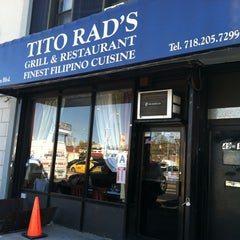 Photo taken at Tito Rad's Grill & Restaurant by Peter J. on 4/3/2012