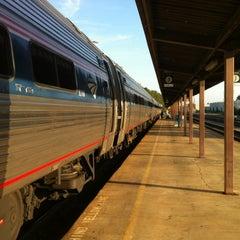 Photo taken at Richmond Amtrak Station (RVR) by Joshua O. on 4/16/2012