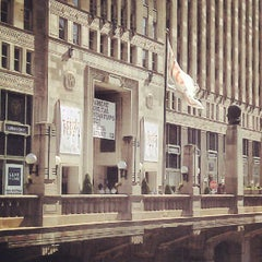 Photo taken at The Merchandise Mart by subbu a. on 6/21/2012