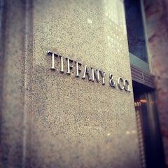 Photo taken at Tiffany & Co. by Melanie N. on 3/4/2012
