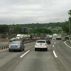 Photo taken at New Jersey Turnpike - Newark by Jose R. on 5/15/2012
