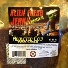 Photo taken at Alien Fresh Jerky by Mary D. on 6/24/2012