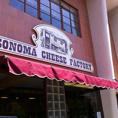 Photo taken at Sonoma Cheese Factory by Randy L. on 5/17/2012