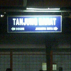 Photo taken at Stasiun Tanjung Barat by Reedwan R. on 8/21/2012
