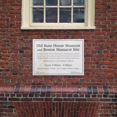 Photo taken at Old State House by Tim R. on 7/7/2012
