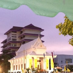 Photo taken at Rama IX Golden Jubilee Temple by DogDrac N. on 8/2/2012