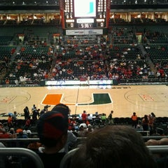 Photo taken at BankUnited Center by Dave F. on 2/2/2012