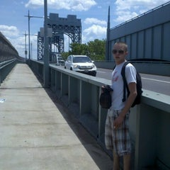 Photo taken at Willis Avenue Bridge by Robyn B. on 6/24/2012