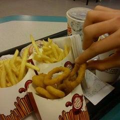Photo taken at Burger King by Ximena C. on 8/1/2012
