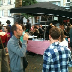 Photo taken at Marché de la place van Meenen / Markt van Meenenplein by Lorenzo R. on 7/2/2012