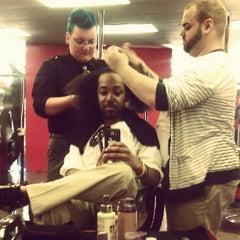 Photo taken at DYE Salon by Mathew B. on 6/25/2012