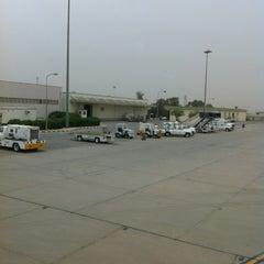 Photo taken at مطار الأمير نايف بن عبدالعزيز الدولي | Prince Nayef Bin Abdulaziz International Airport (ELQ) by Saud A. on 5/16/2012