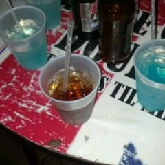 Photo taken at Knight Library Sports Bar & Grill by Nina C. on 3/29/2012