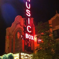 Photo taken at Music Box Theatre by Jay H. on 7/22/2012