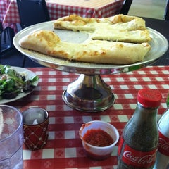 Photo taken at Simonetti's Pizza by Amanda M. on 6/2/2012