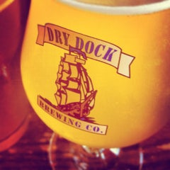 Photo taken at Dry Dock Brewing Company - South Dock by Phil S. on 7/21/2012