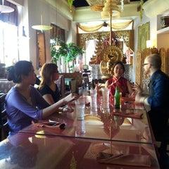 Photo taken at Thai Thani Restaurant by Sylvia H. on 6/16/2012