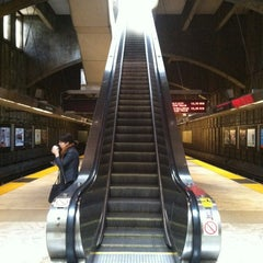 Photo taken at Glen Park BART Station by Rosemarie M. on 5/5/2012