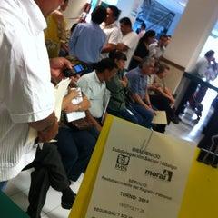 Photo taken at Subdelegación Hidalgo IMSS by Bbrownie C. on 7/18/2012