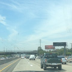 Photo taken at CA-55 (Costa Mesa Freeway) by Jessica L. on 7/10/2012