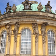Photo taken at Schloss Sanssouci by Ma Ria on 9/2/2012
