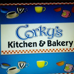 Photo taken at Corky's Kitchen & Bakery by Juanita W. on 7/20/2012