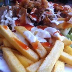 Photo taken at King Doner Kebab Asia by Daniel T. on 3/12/2012