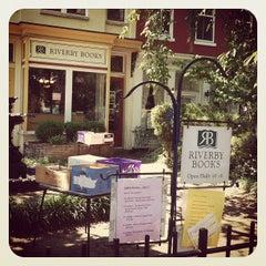 Photo taken at Riverby Books by Zach L. on 7/6/2012