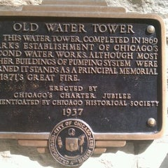 Photo taken at Chicago Water Tower by Jarrod L. on 3/17/2012