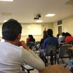 Photo taken at Salón B209 by Roob N. on 4/13/2012