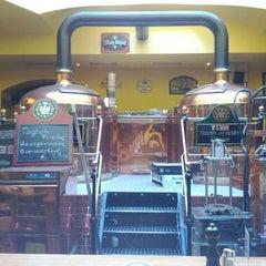 Photo taken at 7 Stern Bräu by David C. on 5/19/2012