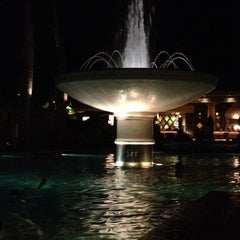 Photo taken at Four Seasons Fountain Pool by Phillip C. on 7/7/2012